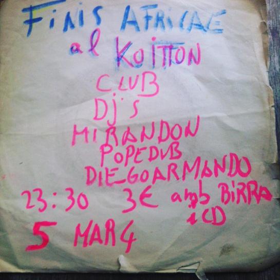 Finis Africae en el Koitton Club